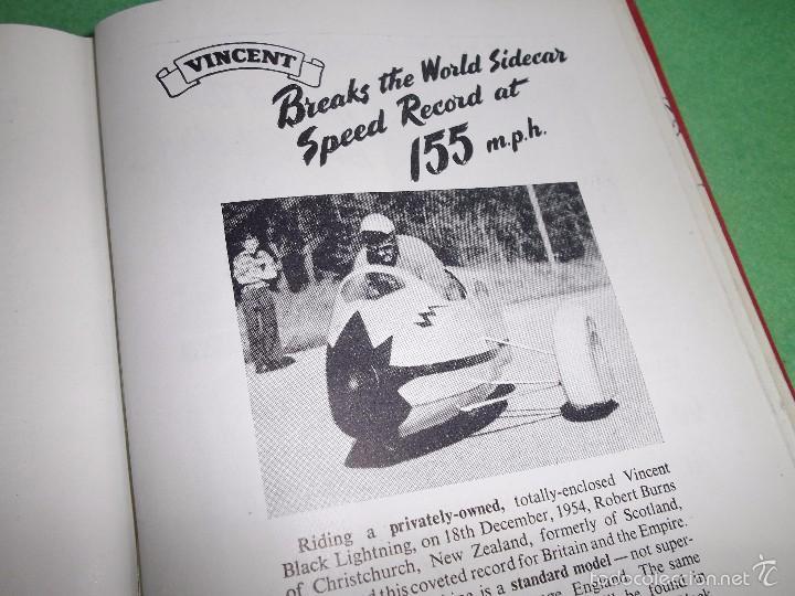 Coches y Motocicletas: DIFICIL MOTOCICLETA VINCENT HRD MANUAL 1955 GUIA PRACTICA DESDE 1935 INSTRUCCIONES MANTENIMIENTO - Foto 16 - 56803673