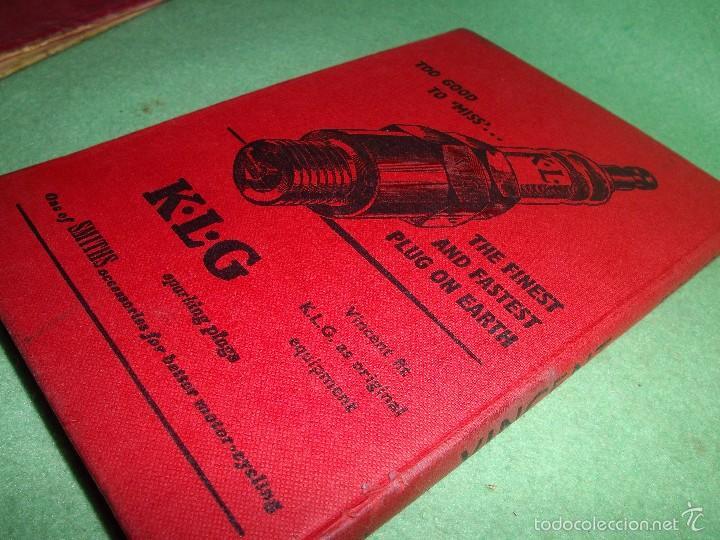 Coches y Motocicletas: DIFICIL MOTOCICLETA VINCENT HRD MANUAL 1955 GUIA PRACTICA DESDE 1935 INSTRUCCIONES MANTENIMIENTO - Foto 18 - 56803673
