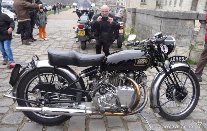 Coches y Motocicletas: DIFICIL MOTOCICLETA VINCENT HRD MANUAL 1955 GUIA PRACTICA DESDE 1935 INSTRUCCIONES MANTENIMIENTO - Foto 21 - 56803673