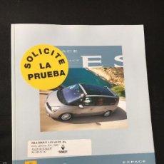 Coches y Motocicletas: FOLLETO CATALOGO PUBLICIDAD ORIGINAL RENAULT ESPACE DE 2006. Lote 56819360