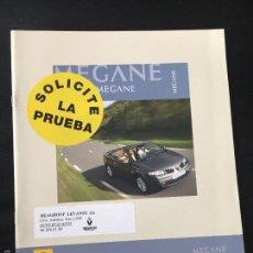 Coches y Motocicletas: FOLLETO CATALOGO PUBLICIDAD ORIGINAL RENAULT MEGANE COUPE-CABRIOLET DE 2006. Lote 56819364