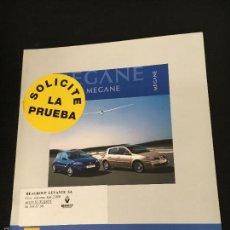 Coches y Motocicletas: FOLLETO CATALOGO PUBLICIDAD ORIGINAL RENAULT MEGANE 3 Y 5 PUERTAS DE 2006. Lote 56819384