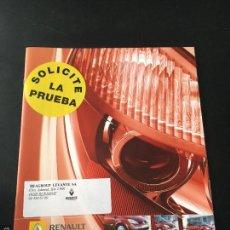 Coches y Motocicletas: FOLLETO CATALOGO PUBLICIDAD ORIGINAL RENAULT SCENIC - GRAND SCENIC DE 2006. Lote 56895736