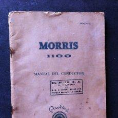 Coches y Motocicletas: MORRIS 1100 , MANUAL ORIGINAL.. Lote 56903520