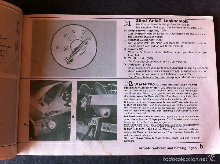 Coches y Motocicletas: Renault 15 y 17. Manual de usuario. Leer descripción. - Foto 4 - 56903747