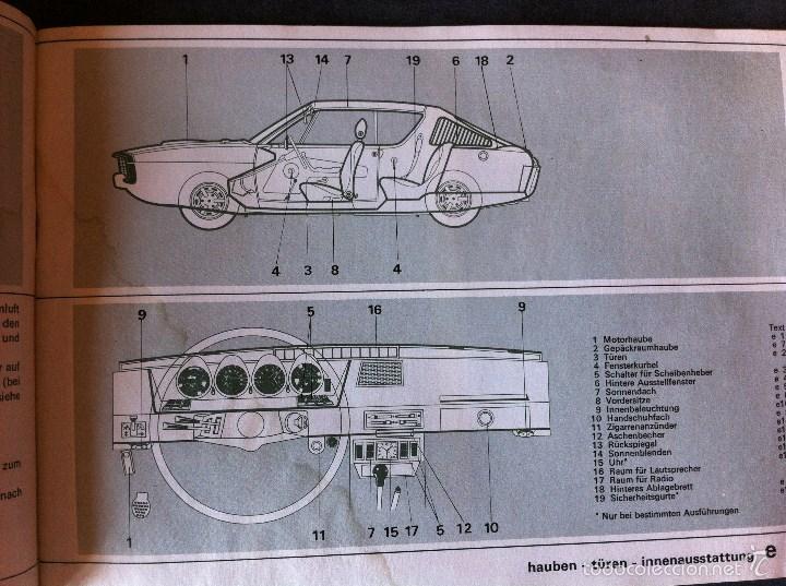 Coches y Motocicletas: Renault 15 y 17. Manual de usuario. Leer descripción. - Foto 5 - 56903747