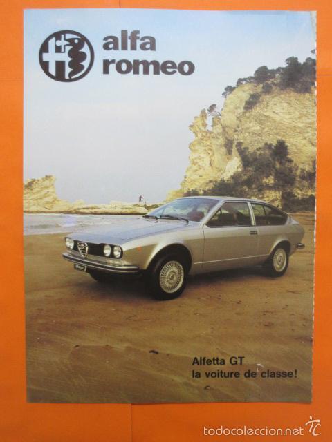 Coches y Motocicletas: PUBLICIDAD 1976 - COLECCION COCHES - GAMA LEYLAND MINI JAGUAR TRIUMPH - ALFA ROMEO GT - Foto 2 - 56975080