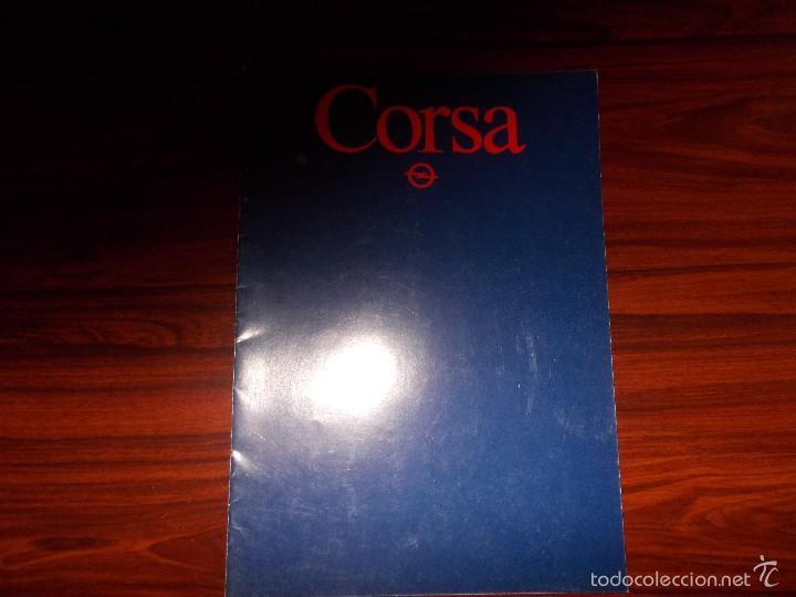 CATALOGO CORSA (Coches y Motocicletas Antiguas y Clásicas - Catálogos, Publicidad y Libros de mecánica)