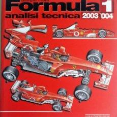 Coches y Motocicletas: FORMULA 1 - ANALISI TECNICA 2003-2004.. Lote 190508536