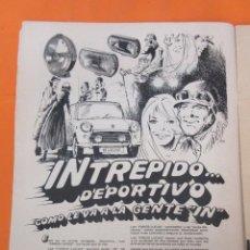 Coches y Motocicletas: PUBLICIDAD 1970 - COLECCION COCHES - FAROS LUCAS. Lote 57072802