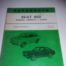 Coches y Motocicletas: SEAT 850 - REPARAUTO N 61 - 62 - NORMAL ESPECIAL Y COUPE - TDK253. Lote 57098341