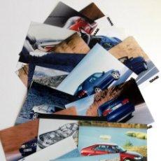 Coches y Motocicletas: LOTE FOTOS DE PRENSA OFICIALES - 17 FOTOS SAAB.. Lote 57235871
