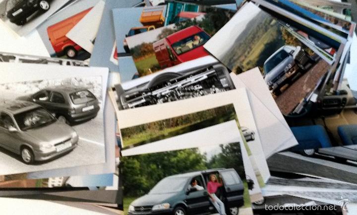 LOTE FOTOS DE PRENSA OFICIALES - 173 FOTOS OPEL. (Coches y Motocicletas Antiguas y Clásicas - Catálogos, Publicidad y Libros de mecánica)