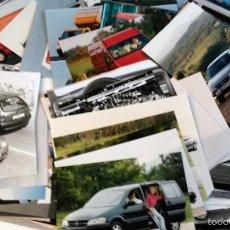 Coches y Motocicletas: LOTE FOTOS DE PRENSA OFICIALES - 173 FOTOS OPEL.. Lote 57236508