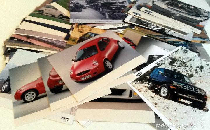 LOTE FOTOS DE PRENSA OFICIALES - 115 FOTOS FORD. (Coches y Motocicletas Antiguas y Clásicas - Catálogos, Publicidad y Libros de mecánica)