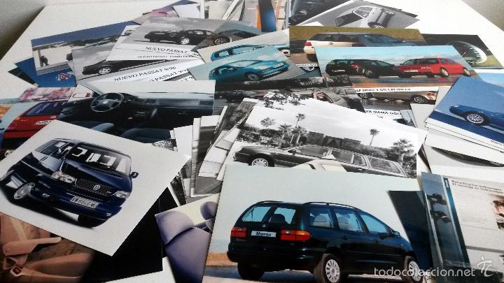LOTE FOTOS DE PRENSA OFICIALES - 88 FOTOS VOLKSWAGEN. (Coches y Motocicletas Antiguas y Clásicas - Catálogos, Publicidad y Libros de mecánica)