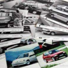 Coches y Motocicletas: LOTE FOTOS DE PRENSA OFICIALES - 19 FOTOS PEUGEOT.. Lote 57237082