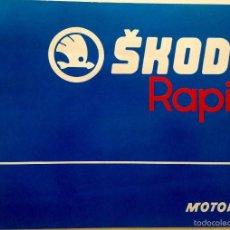 Coches y Motocicletas: CATALOGO SKODA RAPID. 12 PÁGINAS. Lote 57297899