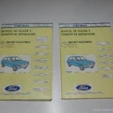 Coches y Motocicletas: (M) FORD FIESTA MANUAL DE TALLER , GUIA DE TRASACIONES, FEBRERO 1985 , ILUSTRADO. Lote 57327745