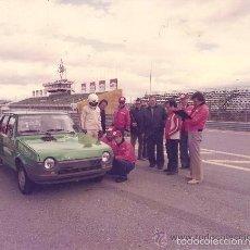 Coches y Motocicletas: FO-031. LOTE DE 7 FOTOGRAFÍAS DE LAS PRUEBAS DE CUBIERTAS FIRESTONE EN EL JARAMA EN 1979. Lote 28477497