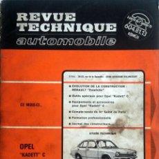 Coches y Motocicletas: REVUE TECHNIQUE Nº 340 - NOVIEMBRE 1974.. Lote 57379118