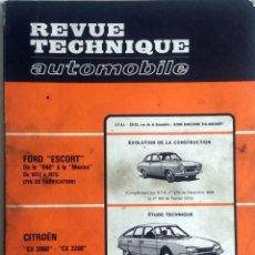 Coches y Motocicletas: REVUE TECHNIQUE Nº 354 - MARZO 1976.. Lote 57379883