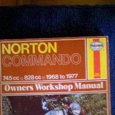 Coches y Motocicletas: LIBRO MOTO,NORTON COMMANDO. 144 PG. Lote 57402748