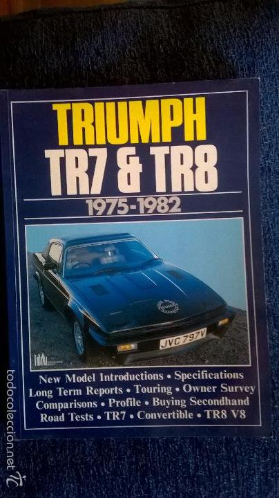 LIBRO COCHE TRIUMPH,EDITADO EN INGLES,103 PG (Coches y Motocicletas Antiguas y Clásicas - Catálogos, Publicidad y Libros de mecánica)