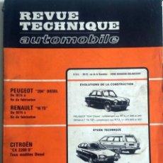 Coches y Motocicletas: REVUE TECHNIQUE Nº 369 - JULIO / AGOSTO 1977. . Lote 57438006