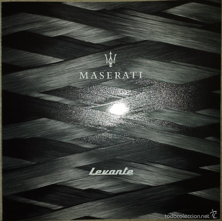 catálogo maserati levante. 2016. en español - comprar catálogos