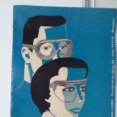 Coches y Motocicletas: CATALOGO CLIMAX 1959, MANOFACTURAS DE GAFAS DE PROTECCION PARA DEPORTE, MIGUEL LLEBOT, BARCELONA.. Lote 57510722