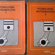 Coches y Motocicletas: LIBROS MECÁNICA DEL AUTOMOVIL ,DOS TOMOS. Lote 57515900