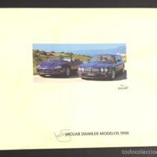 Coches y Motocicletas: FOLLETO CATALOGO PUBLICIDAD ORIGINAL JAGUAR DAIMLER MODELOS DE 1998. Lote 57541608