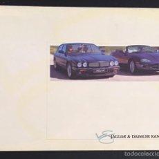 Coches y Motocicletas: FOLLETO CATALOGO PUBLICIDAD ORIGINAL JAGUAR DAIMLER GAMA DE MODELOS DE 1999. Lote 57541623