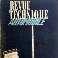 Coches y Motocicletas: REVUE TECHNIQUE Nº 121 MAYO 1956. . Lote 57619510