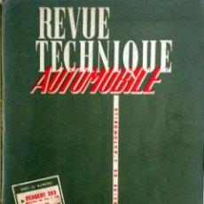 Coches y Motocicletas: REVUE TECHNIQUE Nº 173 SEPTIEMBRE 1960. . . Lote 57626342