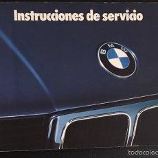 Coches y Motocicletas: MANUAL DE INSTRUCCIONES ORIGINAL BMW SERIE 5 DE 1993. Lote 57668821
