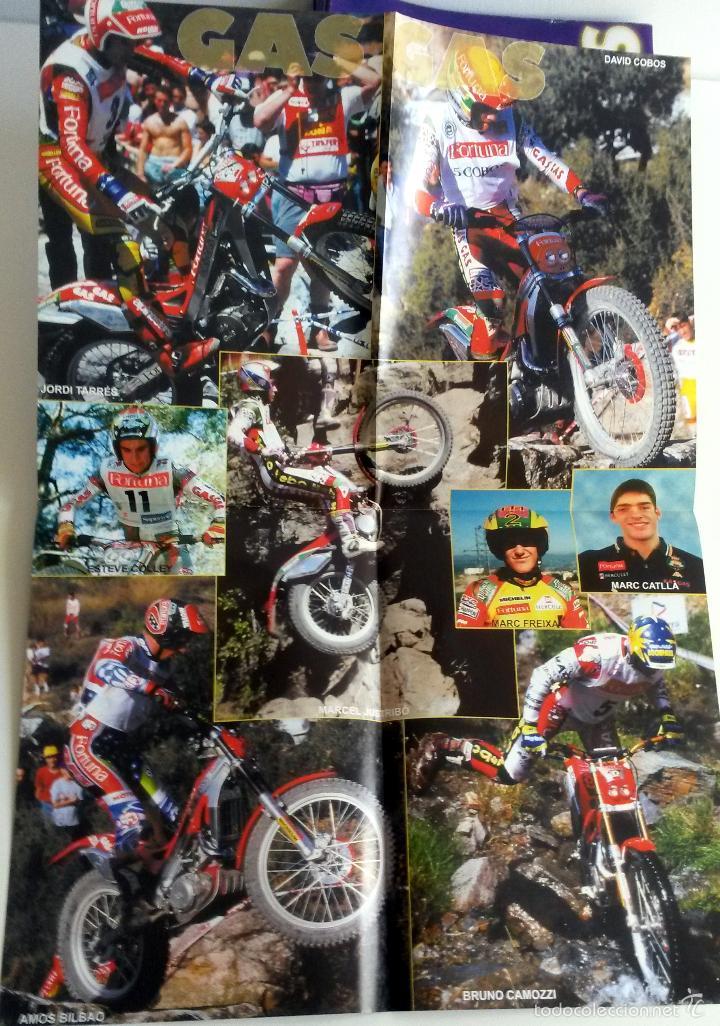 Coches y Motocicletas: CATÁLOGO-PÓSTER GAS GAS.TX 320 - TX 250 - TX 200 - TX 125. - Foto 2 - 57734770