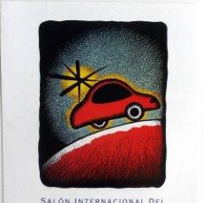 Coches y Motocicletas: PÓSTER SALÓN DEL AUTOMÓVIL BARCELONA 1993.. Lote 57735269