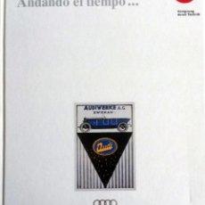 Coches y Motocicletas: LIBRO OFICIAL AUDI - ANDANDO EL TIEMPO.... Lote 57736002