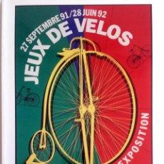 Coches y Motocicletas: LIBRO - CATÁLOGO OFICIAL JEUX DE VELOS - EXPOSITION.. Lote 57736271