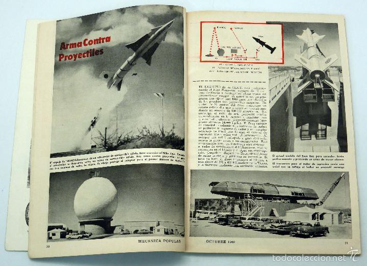 Coches y Motocicletas: Mecánica Popular revista nº 4 Vol 27 Octubre 1960 Rambler Vehículo agua tierra jardines ornamentales - Foto 2 - 57748687
