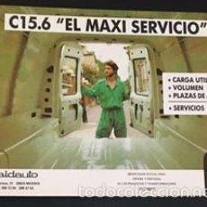 Coches y Motocicletas: FOLLETO CATALOGO PUBLICIDAD ORIGINAL CITROEN C15.6 C 15 SEIS PUERTAS. Lote 57759385
