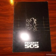 Coches y Motocicletas: CATALOGO PEUGEOT 505 . Lote 57763481