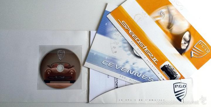 Coches y Motocicletas: DOSSIER DE PRENSA P.G.O. AUTOMOBILES - 2006. + DVD. - Foto 2 - 57954079