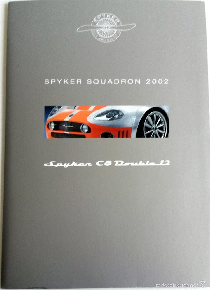DOSSIER DE PRENSA SPIKER SQUADRON - 2002. + FOTOS. (Coches y Motocicletas Antiguas y Clásicas - Catálogos, Publicidad y Libros de mecánica)
