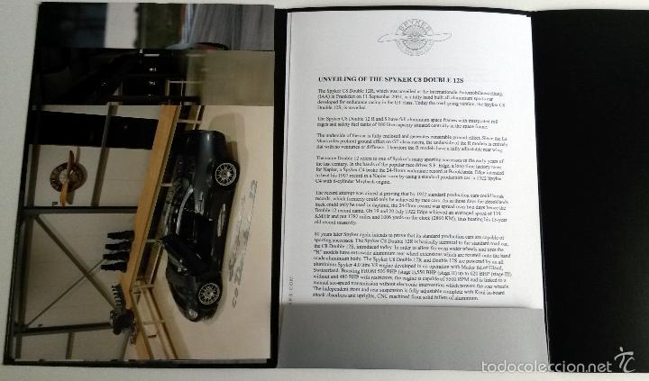 Coches y Motocicletas: DOSSIER DE PRENSA SPIKER SQUADRON - 2002. + FOTOS. - Foto 2 - 57954332