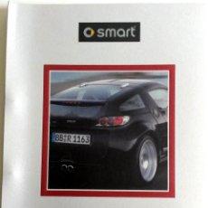 Coches y Motocicletas: DOSSIER DE PRENSA SMART BRABUS - 2004. + DVD + FOTOS. Lote 57954837