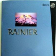 Coches y Motocicletas: DOSSIER DE PRENSA BUICK RAINIER - 2002. + DVD.. Lote 57955152