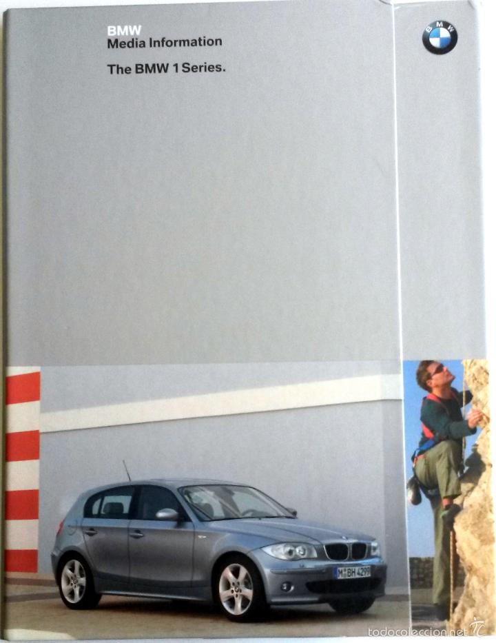 DOSSIER PRENSA THE BMW 1 SERIES + CD. (Coches y Motocicletas Antiguas y Clásicas - Catálogos, Publicidad y Libros de mecánica)